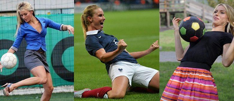 """صورة فرابارت ليست الأولى.. سيدات اقتحمن عالم كرة القدم الرجالية """"صور"""""""