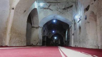 """صورة """"جامع المظفري"""" بمدينة حيس.. مَعْلَم تاريخي عريق مهدَّد بالانهيار """"صور"""""""