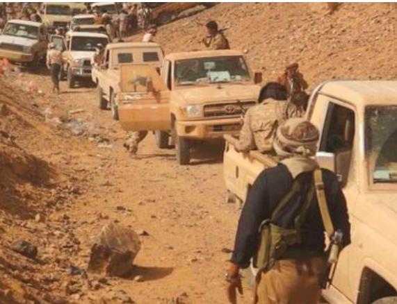 صورة أستمرار تقدم الجيش الوطني تحرير جبهة بالكامل والسيطرة على معسكر استراتيجي.. (تفاصيل)
