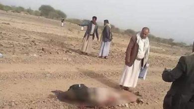 """صورة مليشيا الحوثي تعلن عزمها دفن """"49"""" جثة بينهم شيخ قبلي"""