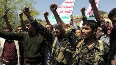 صورة الحوثي يثير القلق الأمريكي فقط!!