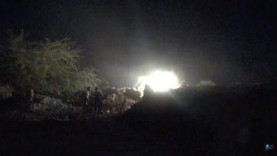 صورة قوات العمالقة :مقتل وإصابة نحو 100 من مسلحي الحوثي بينهم قيادي كبير بمحافظة الحديدة .