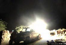 صورة كسر محاولة تسلل انتحارية للحوثيين جنوب الحديدة