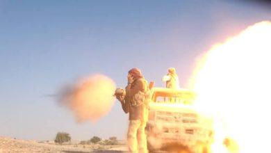 """صورة مأرب تشتعل بأعنف المعارك وطائرات التحالف تتدخل """"أخر المستجدات"""""""