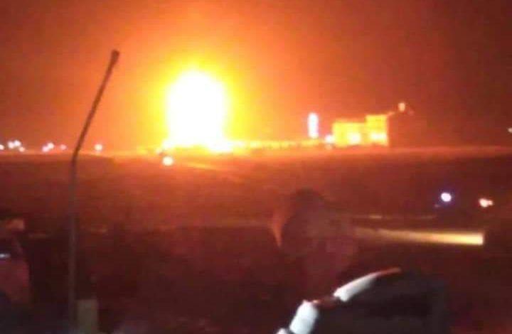 صورة سماع ذوي انفجار ضحم هز مدينة مأرب ومصادر تتحدث عن مصدرة