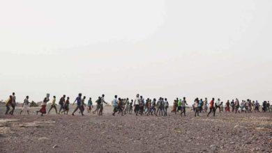 """صورة حلم الأفارقة ينتهي بهجرة عكسية من اليمن إلى بلدانهم """"الحوثيون ومأساة المهاجرين"""""""
