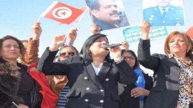 صورة رئيسة الحزب الدستوري الحر: سنحتل شوارع تونس قريبا لوقف مخطط الإخوان
