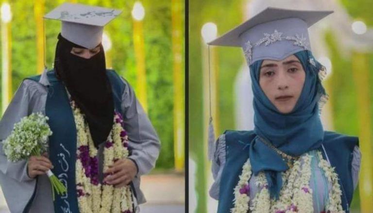 صورة رحمة وميرفت.. قصة نجاح تتخطى الإعاقة والحرب في اليمن