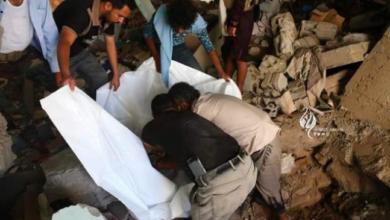 صورة عملية حوثية للإتجار بالبشر الأموات في الحديدة و ناطق القوات المشتركة يكشف تفاصيلها