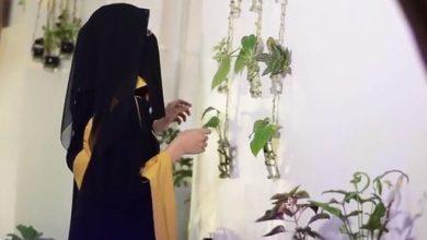 صورة سلمى العماري.. يمنية تتجاوز بنباتات الزينة آلام الحرب