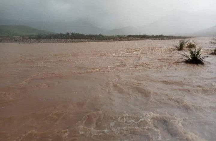 صورة العاصفة الإعصاريه تجبر أهالي حديبو على النزوح إلى المرتفعات الجبلية وإيقاف المدارس