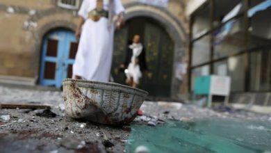 """صورة شاب يقتل مؤذن وإمام مسجد في تعز بساطور وهشم رأسه بصخرة والسبب صوت الاذان """"جريمة وحشية هزت المدينة"""""""