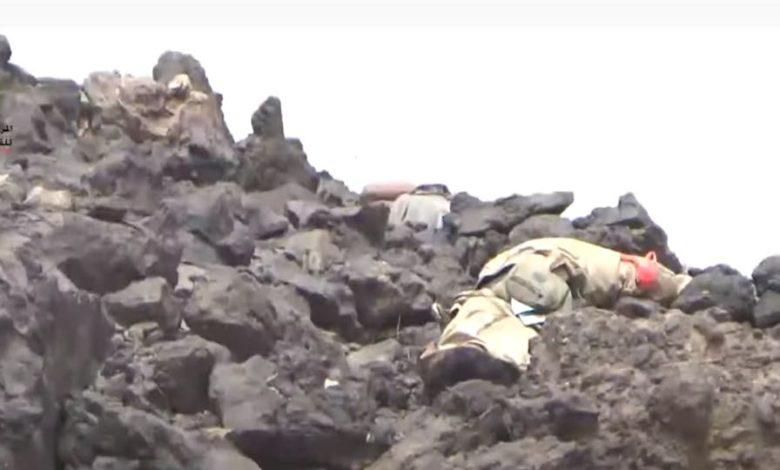 صورة شاهد بالفيديو.. ماذا كشفت كاميرا حوثية في جبهات مأرب؟