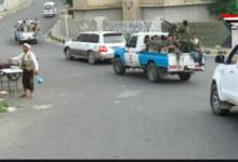 صورة شرطة تعز تلقي القبض على 5 متهمين في قضية جنائية