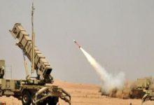 صورة المليشيات تطلق صاروخ باليستي بإتجاه جازان والتحالف يكشف عن مصيره