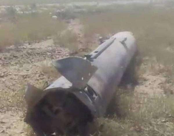 """صورة صاروخ بالستي يسقط في صنعاء بعد لحظات من إطلاقه والمليشيات تطوق المكان """"صورة"""""""
