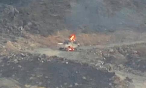 صورة أخر المستجدات في مأرب.. قوات الجيش تستهدف تجمعات وتحركات حوثية في صرواح والخسائر كبيرة