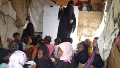 صورة مأرب : مناشدات لإنقاذ حياة 5 آلاف أسرة من إرهاب الحوثي بالعبدية