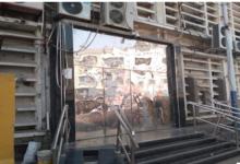 صورة إغلاق تام لجميع البنوك الحكومية ومكاتب البريد والمؤسسات المالية في عدن