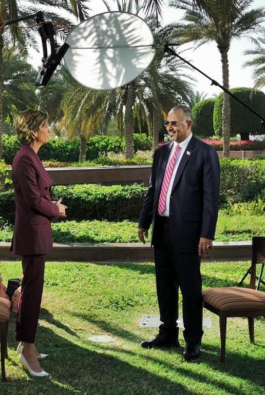 أبرز ماجاء في لقاء رئيس المجلس الانتقالي مع قناة CNN الامريكية