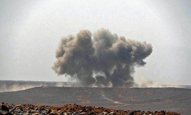 """صورة إعلان عاجل للتحالف العربي بقيادة السعودية حول مأرب """"26 عملية وأكثر من ١٠٠ قتيل"""""""