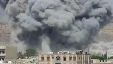 صورة تدمير سلاح الحوثي أول خطوة للسلام