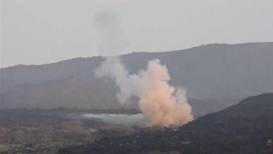 صورة غارات التحالف تصرع 150 عنصرا حوثي و13 الية عسكرية خلال 24 ساعه في مأرب