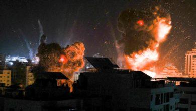 صورة تشريد أكثر من 52 ألف فلسطيني وتدمير نحو 450 مبنى في غزة جراء غارات الاحتلال ومصر تتدخل لإعادة الاعمار