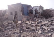 صورة تدمير 5 منازل وتضرر العشرات .. الحوثيون يقصفون مجمعاً صناعياً وأحياء سكنية بالحديدة
