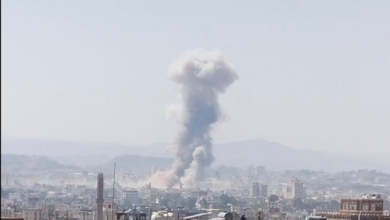 صورة الطيران يستهدف عدة مواقع في العاصمة صنعاء