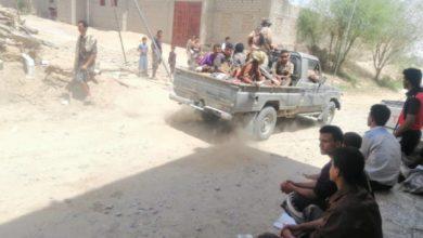 """صورة قائد كتيبة """"سلمان"""" في محور عتق يكشف تفاصيل الخيانة في بيحان """"فيديو"""""""