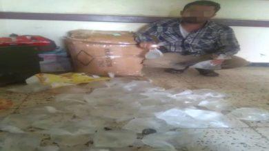 صورة تعرف على الحيلة التي لجأ لها بائع خمور في عدن وما مصيره؟