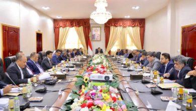 صورة الحكومة تقف أمام تطورات الأوضاع وتتخذ عدة قرارات