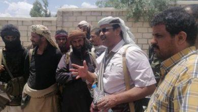 صورة محافظ البيضاء: تحرير المحافظة ضرورة حتمية وهي طريقنا إلى صنعاء