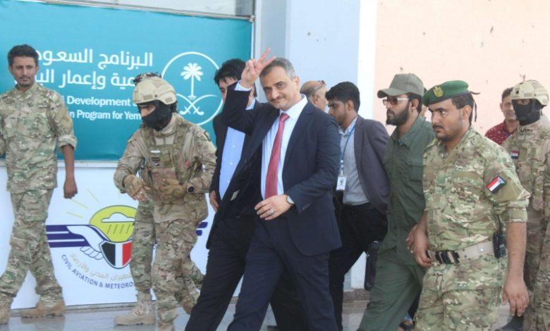 ما حقيقة استقالة محافظ محافظة عدن أحمد حامد لملس؟