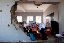 صورة 60٪ من الأطفال الذين تعرضت مدارسهم للهجوم في اليمن لم يعودوا إلى التعليم