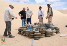 صورة خلال اسبوع واحد .. نزع 1428 لغما أرضيا من مختلف المحافظات اليمنية