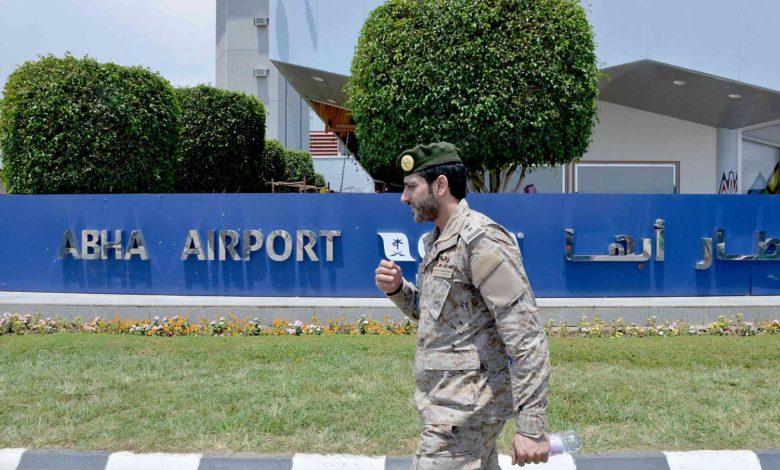 التحالف يعلن تفاصيل الهجوم الحوثي الجديد الذي استهدف مطار أبها اليوم