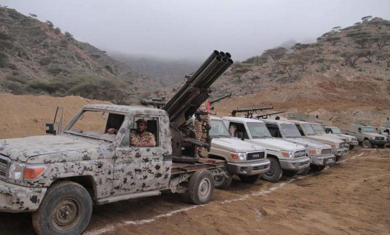 صورة تنظيم الإخوان يحشد قواته على أبواب عدن بمنصات صواريخ وطائرات تركية والقوات الجنوبية تتوعد