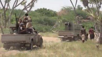 صورة دوي القذائف والانفجارات يهز مدينة تعز