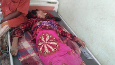 صورة قتلى وجرحى من المدنيين بينهم امراة برصاص الحوثيين في الحديدة
