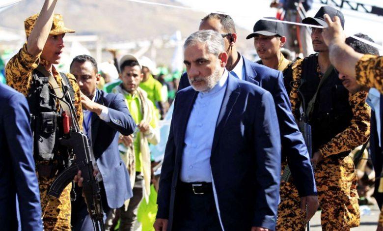 صورة حسن إيرلو ممثل الحرس الثوري في صنعاء يستكمل السيطرة على قرار الحوثيين