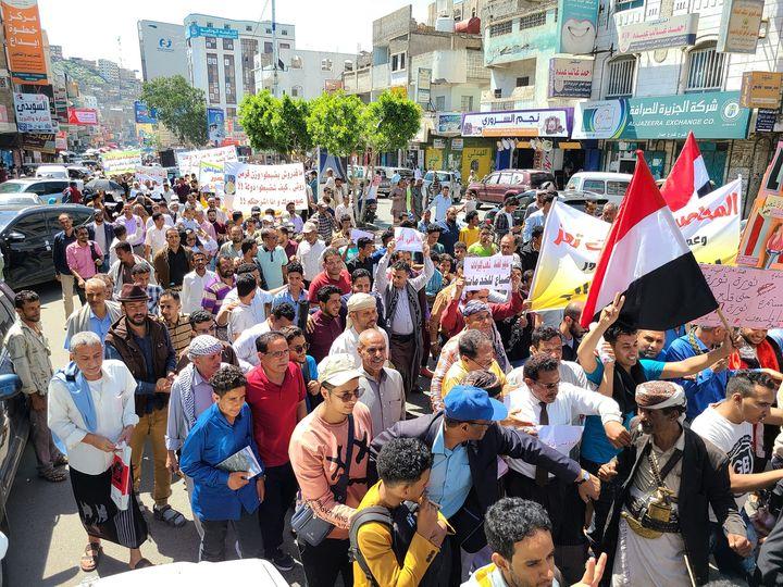 منظومة فساد الإصلاح في تعز وموجات الغضب الشعبي
