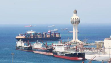 صورة اتفاق يمني سعودي على نقل تفتيش السفن من ميناء جدة إلى ميناء يمني