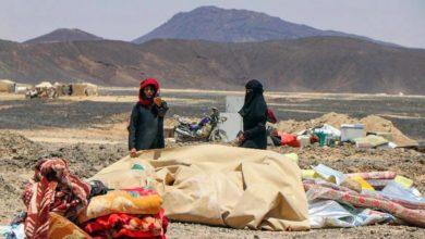صورة يدُ المليشيات تتخطّف اليمنيّين.. وحصار العبدية ابادة جماعية