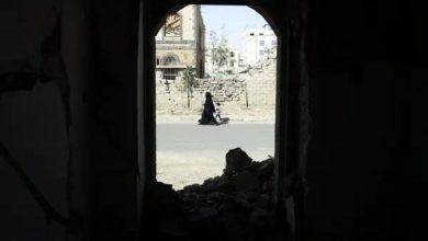 صورة عن الحوثي الذي يختطف النساء