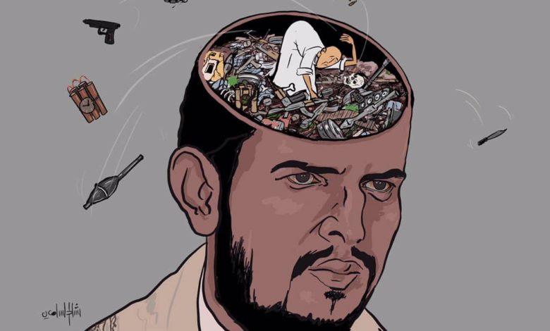 """صورة """"نكبة الحوثي"""" بـ 21 سبتمبر.. 7 أعوام من خراب اليمن"""