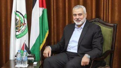 صورة هنية يصل عمان ويلتقي عدد من القيادات الأردنية