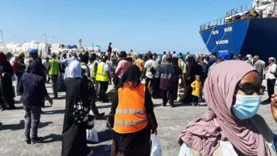 """صورة هي الثانية خلال أقل من اسبوع.. وصول دفعة جديدة من النازحين اليمنيين إلى الصومال """"صور"""""""