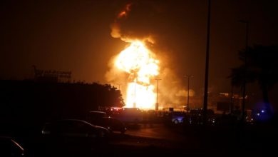 صورة عاجل: وزارة الطاقة السعودية تكشف رسميا تفاصيل الانفجارات في خزانات النفط وشركة أرامكو بعد استهدافها بصاروخ باليستي وطائرة مفخخة مساء اليوم